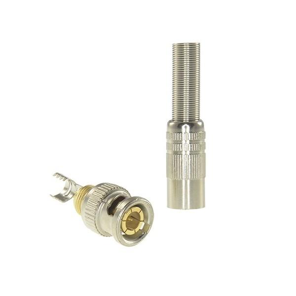 Conector BNC para crimpar CON116