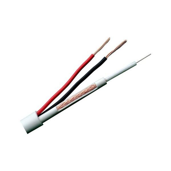 Bobina cable RG59  100m. PVC