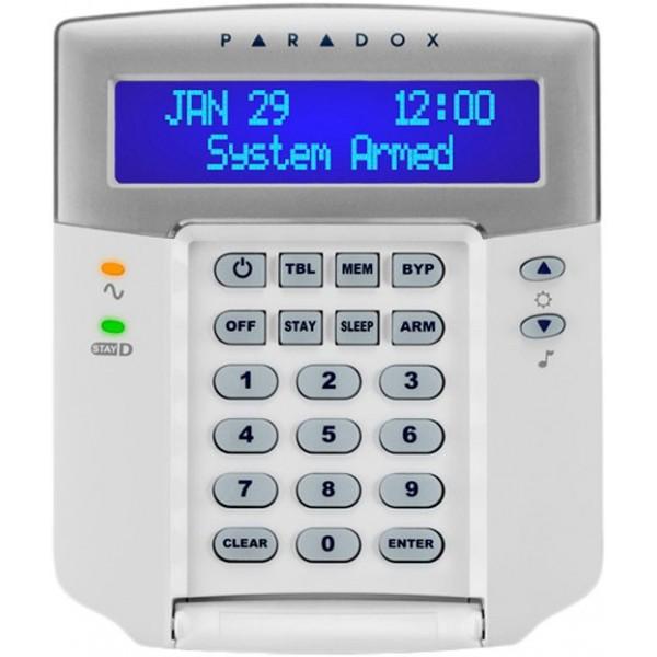 K32LCD+ | Teclado LCD Cableado de 32 Zonas
