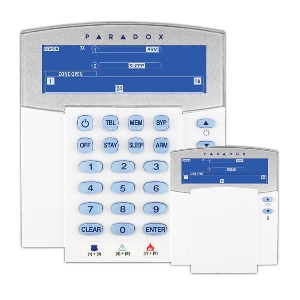 K37 | Teclado LCD vía radio bidireccional
