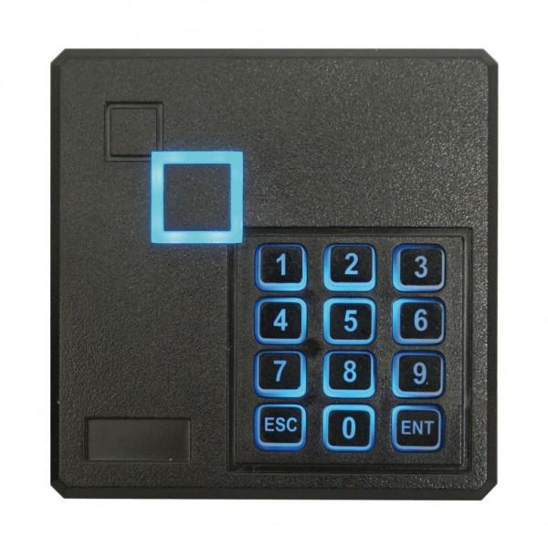 Teclado autónomo con lector de proximidad MIFARE 13,56 khz