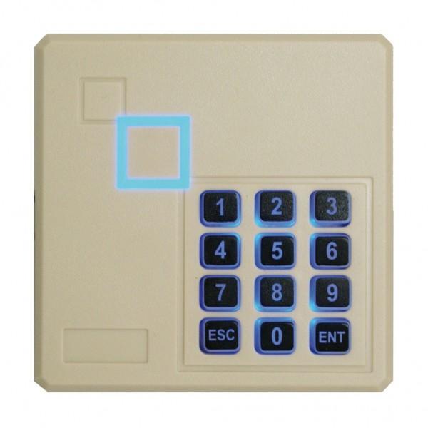 Teclado autónomo con lector de proximidad EM integrado